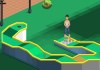 jeux flash Mini Golf 9 Trous