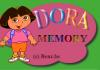 jeux flash Dora Memory